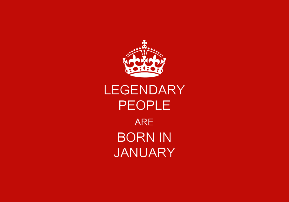 8 Amazing Facts About People Born in January